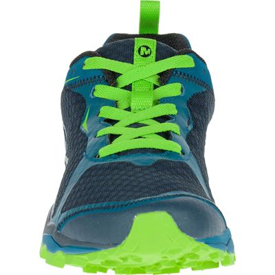 Merrell All Out Crush Light Mens Running Shoes - Green Front