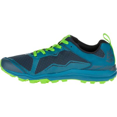 Merrell All Out Crush Light Mens Running Shoes - Green Side
