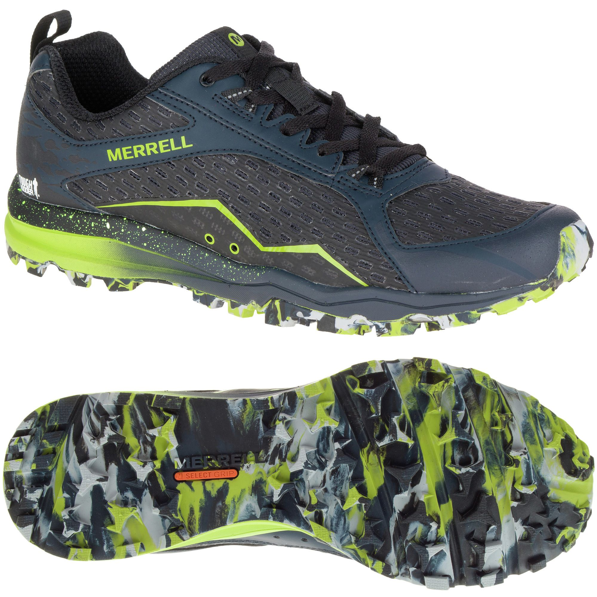 Merrell All Out Crush Mens Running Shoes - Sweatband.com