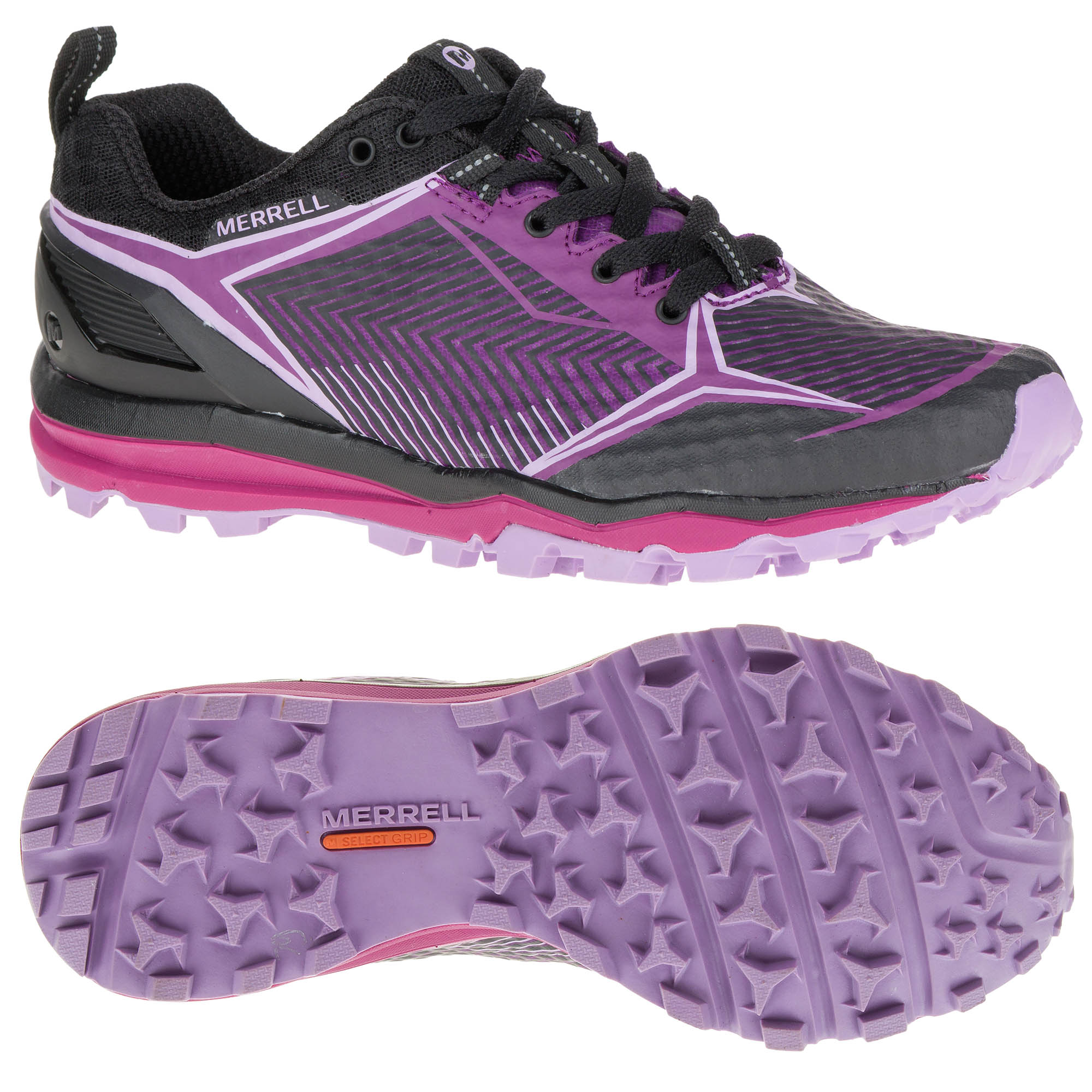 online for sale temperament shoes official site Merrell All Out Crush Shield Ladies Running Shoes