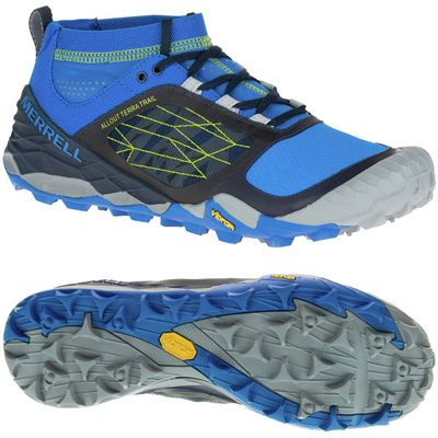 Merrell All Out Terra Trail Mens Running Shoes AW16
