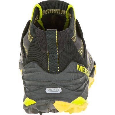 Merrell All Out Terra Trail Mens Running Shoes - Back