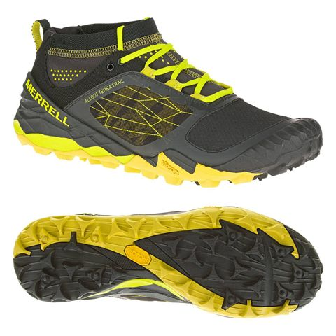 Merrell All Out Terra Trail Mens Running Shoes SS16