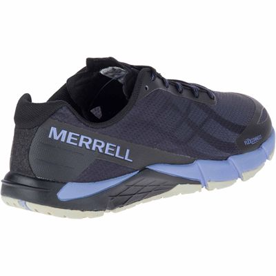 Merrell Bare Access Flex Ladies Running Shoes - Angled
