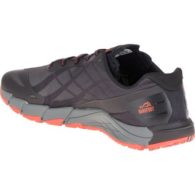 Merrell Bare Access Flex Mens Running Shoes - Black - Angled3