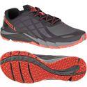 Merrell Bare Access Flex Mens Running Shoes - Black