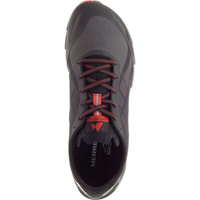 Merrell Bare Access Flex Mens Running Shoes - Black - Above