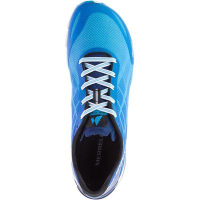 Merrell Bare Access Flex Mens Running Shoes - Blue - Above