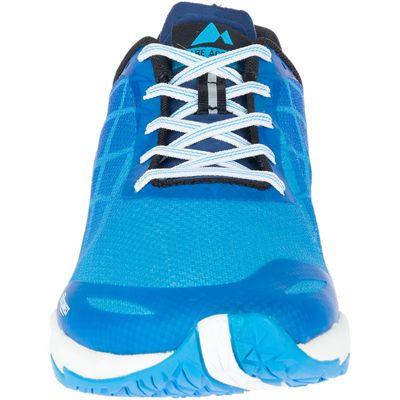 Merrell Bare Access Flex Mens Running Shoes - Blue - Front