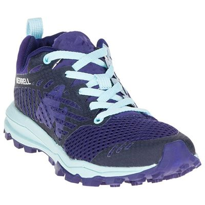 Merrell Dexterity Tough Mudder Ladies Running Shoes - Angle