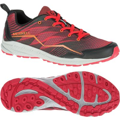 Merrell Trail Crusher Mens Running Shoes-red
