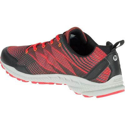 Merrell Trail Crusher Mens Running Shoes - Red - Left