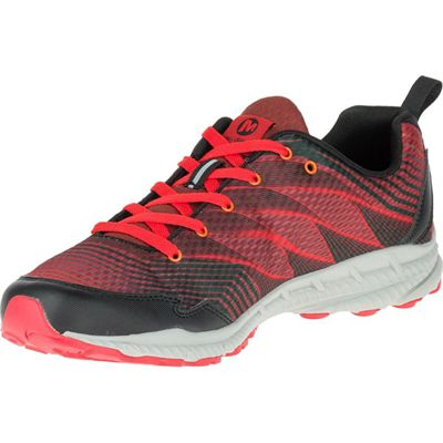 Merrell Trail Crusher Mens Running Shoes - Red - Left Side