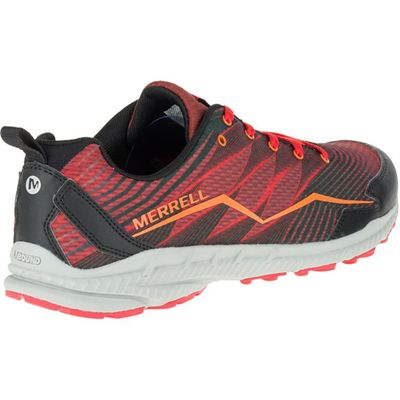 Merrell Trail Crusher Mens Running Shoes - Red - Right