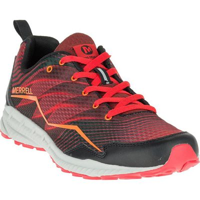 Merrell Trail Crusher Mens Running Shoes - Red - Side