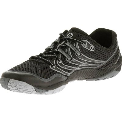 Merrell Trail Glove 3 Mens Running Shoes-Black and Grey-Alternative