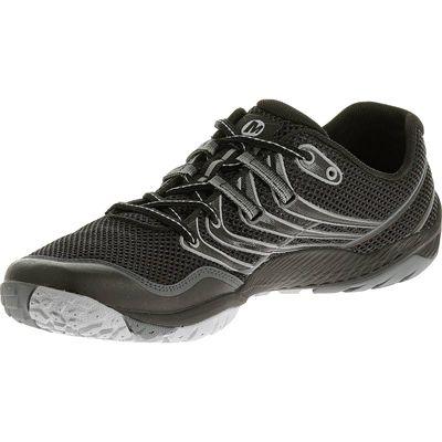Merrell Trail Glove 3 Mens Running Shoes-Black and Grey-Alternative