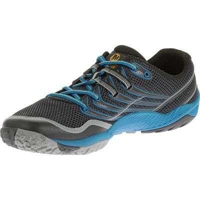 Merrell Trail Glove 3 Mens Running Shoes-Navy and Blue-Alternative