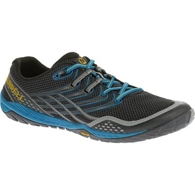 Merrell Trail Glove 3 Mens Running Shoes-Navy and Blue-Side