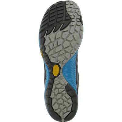 Merrell Trail Glove 3 Mens Running Shoes-Navy and Blue-Sole