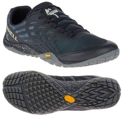 Merrell Trail Glove 4 Mens Running Shoe - Black