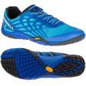Merrell Trail Glove 4 Mens Running Shoes - Blue