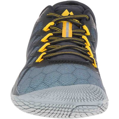 Merrell Vapor Glove 3 Mens Running Shoes - Grey - Front