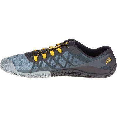 Merrell Vapor Glove 3 Mens Running Shoes - Grey - Side