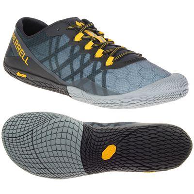 Merrell Vapor Glove 3 Mens Running Shoes - Grey
