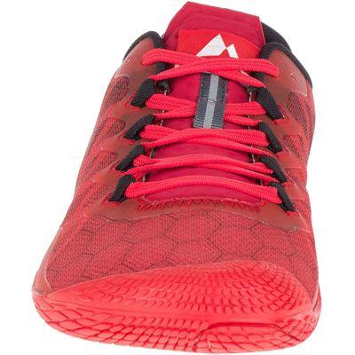 Merrell Vapor Glove 3 Mens Running Shoes - Red - Front