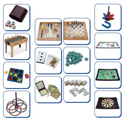 Mightymast 34-in-1 Multiplay Games Table - Games