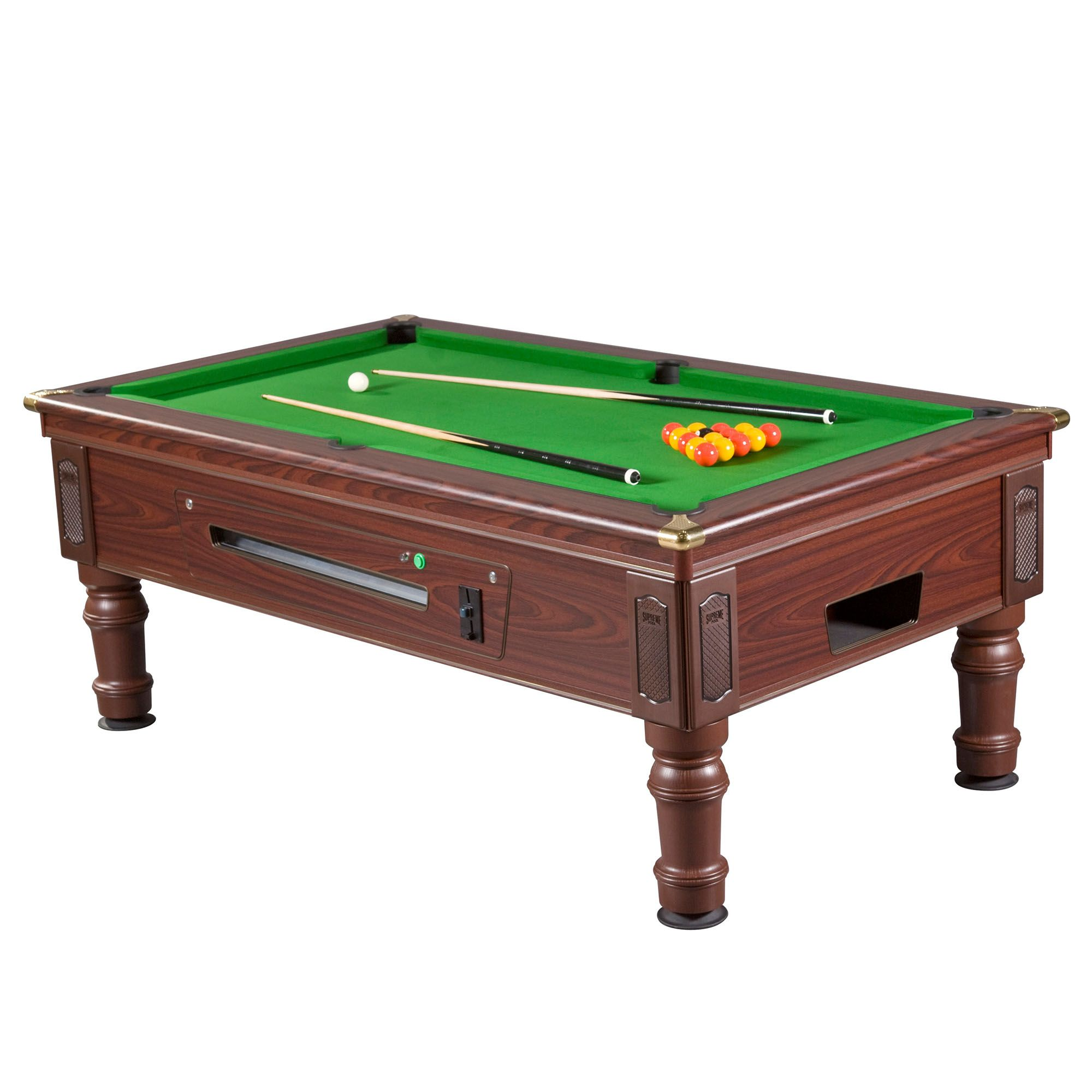 Mightymast 6ft prince slate bed english pool table for Table 6 foot