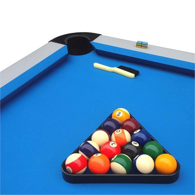 Mightymast 7ft Astral Outdoor American Pool Table - In Use