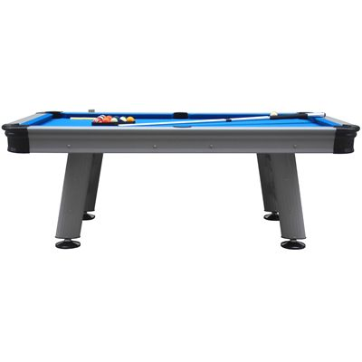 Mightymast 7ft Astral Outdoor American Pool Table - Side