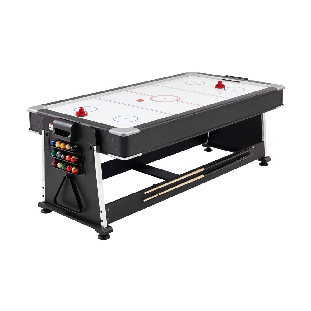 Mightymast 7ft Revolver 3 In 1 Pool Air Hockey And Table