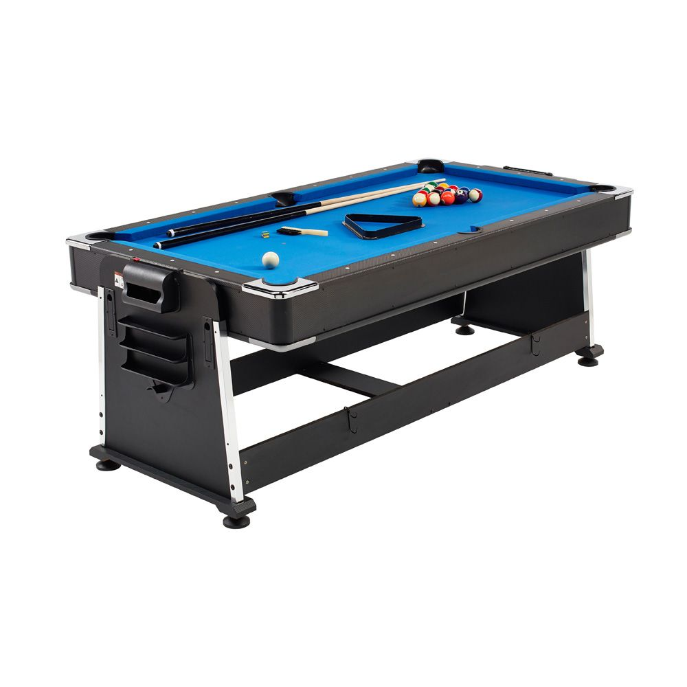 Mightymast 7ft revolver 3 in 1 pool air hockey and table tennis table - Pool table table tennis ...