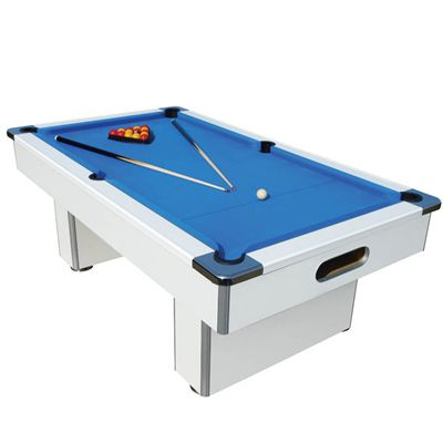 Mightymast 7ft Speedster Pool Table-Beech - White