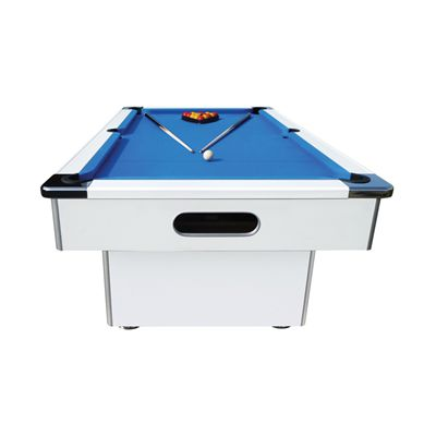 Mightymast 7ft Speedster Pool Table-Beech - White - Front