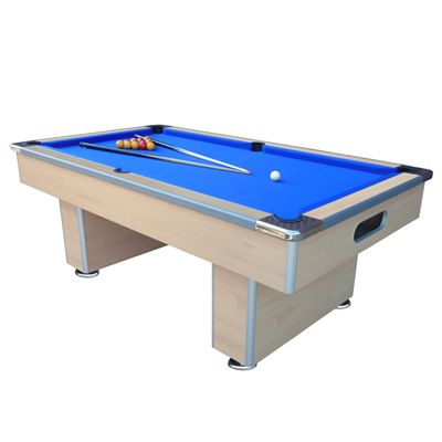 Mightymast 7ft Speedster Pool Table-Beech