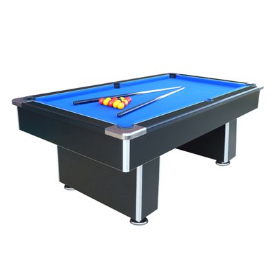 Mightymast 7ft Speedster Pool Table-Black
