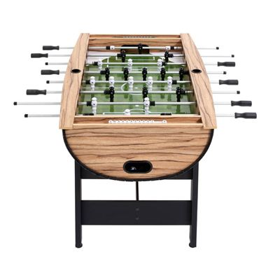 Mightymast Barrel Football Table - Front