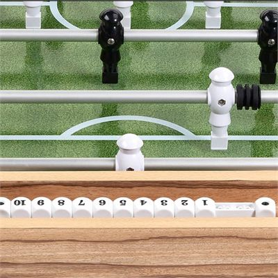 Mightymast Barrel Football Table - Zoomed