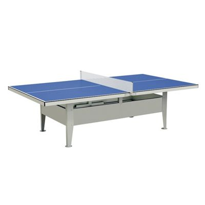 Mightymast Institution Waterproof Outdoor Table Tennis - Blue