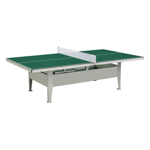 Mightymast Institution Waterproof Outdoor Table Tennis Table
