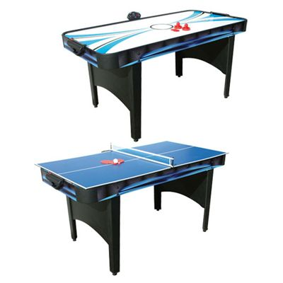 Mightymast Typhoon 2 in 1 Air Hockey and Table Tennis Table - Optins