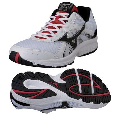 Mizuno Crusader 8 Mens Running Shoes - White/Black