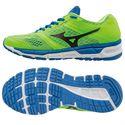 Mizuno Synchro MX Mens Running Shoes-Green-Black-Blue