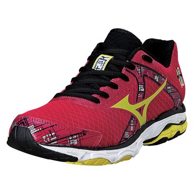 Mizuno Wave Inspire 10 Ladies Running Shoes 2014 - Red and Black