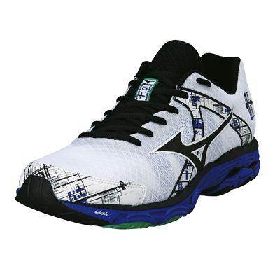 Mizuno Wave Inspire 10 Mens Running Shoes 2014 - Black/White