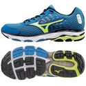 Mizuno Wave Inspire 11 Mens Running Shoes-Blue and Lime